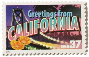 California Stamp Image