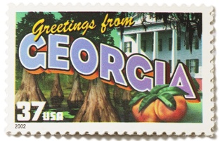 Georgia Stamp Image