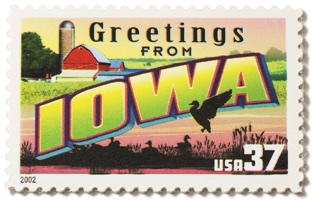 Iowa Stamp Image