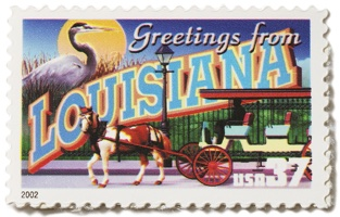 Louisiana Stamp Image