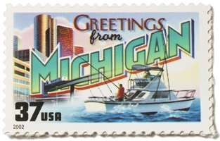 Michigan Stamp Image