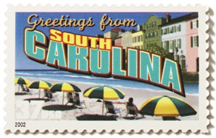 South Carolina Stamp Image