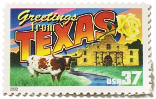 Texas Stamp Image