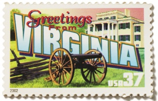 Virginia Stamp Image