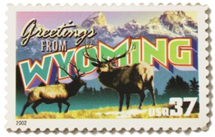 Wyoming Stamp Image